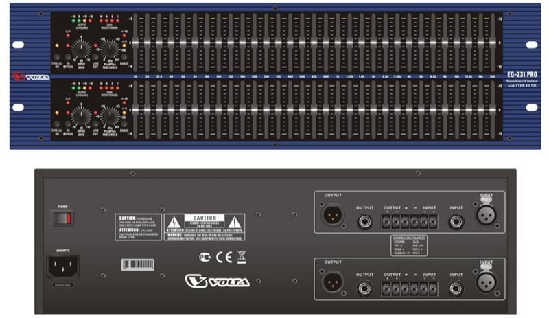 Приборы обработки звука Volta