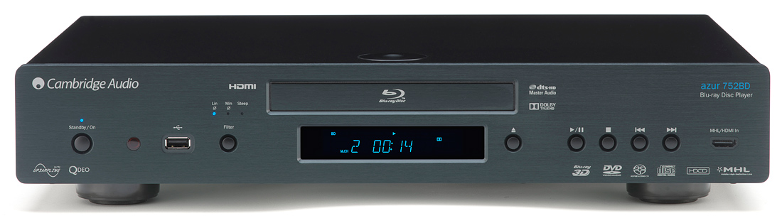 Blu-ray проигрыватель CAMBRIDGE AUDIO AZUR 752BD (video)
