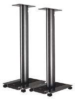 Стойки под акустику ELAC Stands LS 70 (стойка для BS 203 высота 69.5-72.6 с стойка для акустики waterfall подставка под акустику shelf stands hurricane black