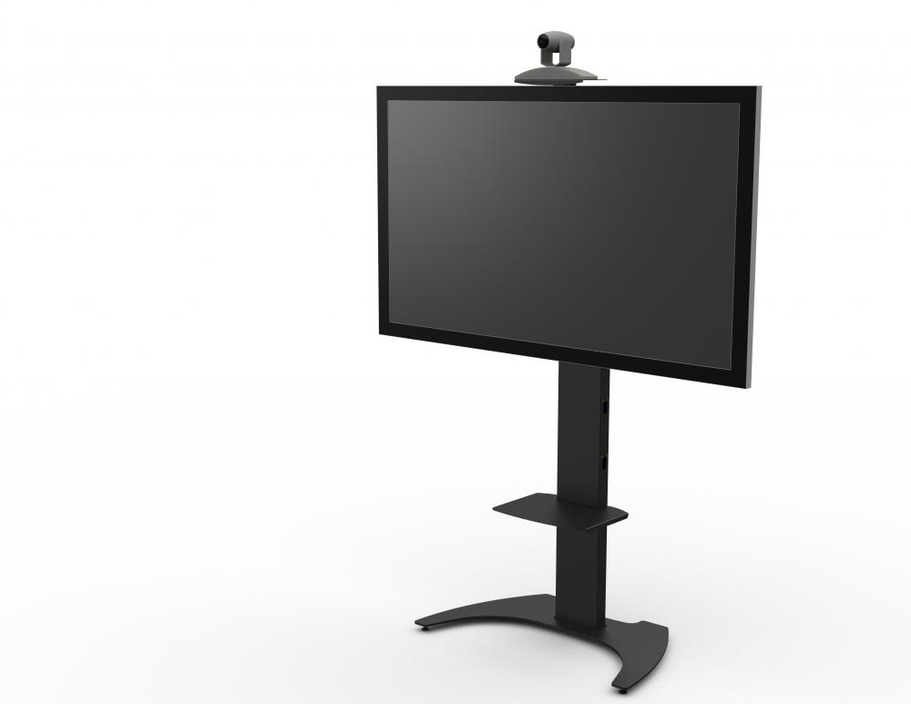 Подставки под телевизоры и Hi-Fi Fix Стойка напольная FIX M50 black