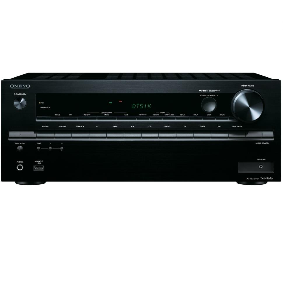 AV ресиверы Onkyo TX-NR646 black onkyo tx nr646 black