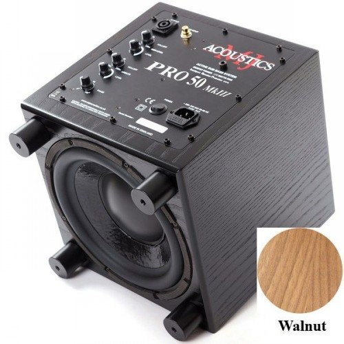 Сабвуферы MJ Acoustics Pro 50 Mk III walnut