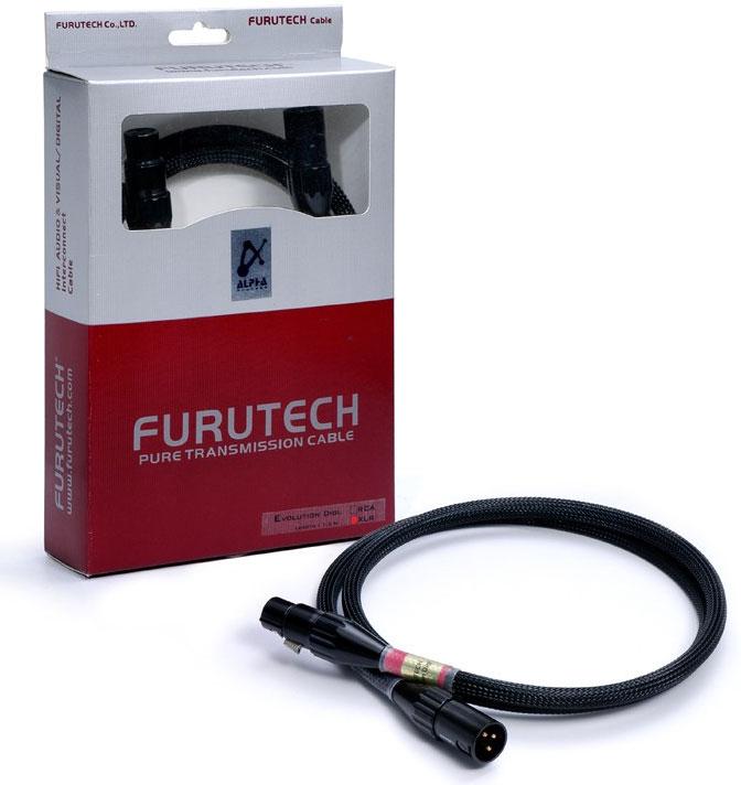 Кабели межблочные аудио Furutech Evolution Digital (XLR) 1.2m