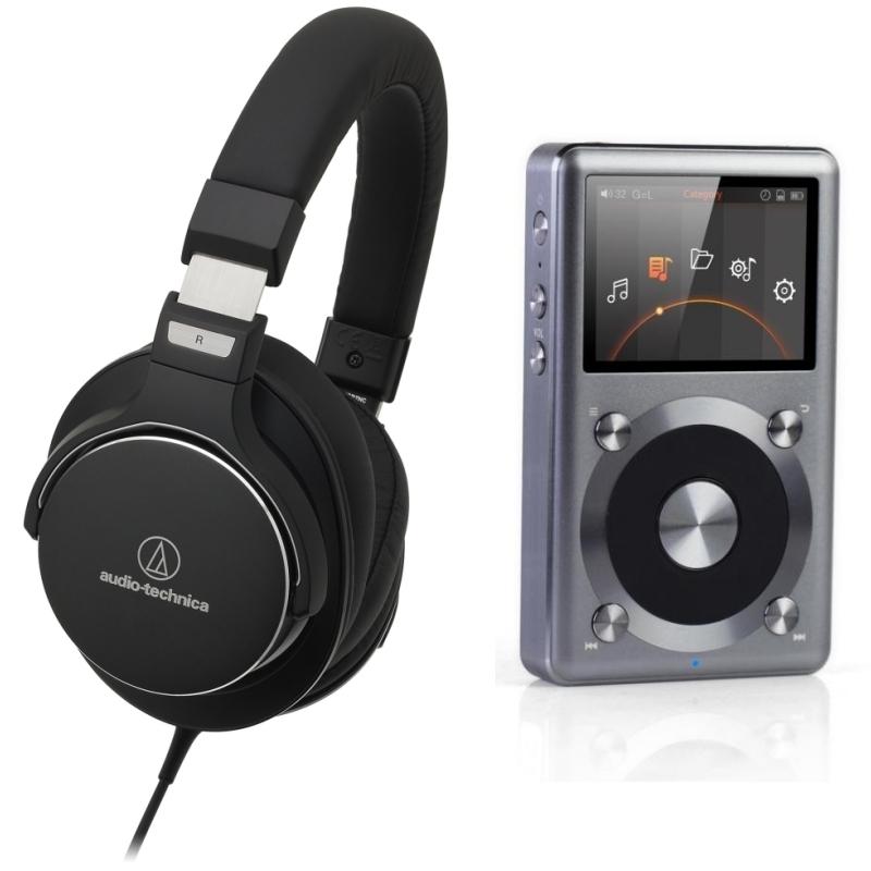 Комплекты персонального аудио PULT.ru №7 (FiiO + Audio Technica)