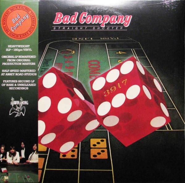 Виниловые пластинки Bad Company STRAIGHT SHOOTER (180 Gram)