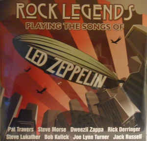 Виниловые пластинки Led Zeppelin ROCK LEGENDS PLAYING THE SONGS OF LED ZEPPELIN (180 Gram) portrait of billy joe