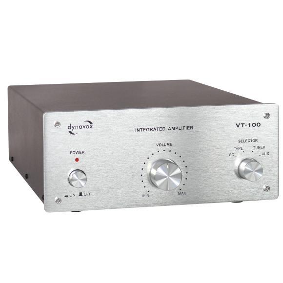Интегральные стереоусилители Dynavox VT-100 silver dynavox et 100 silver 206396