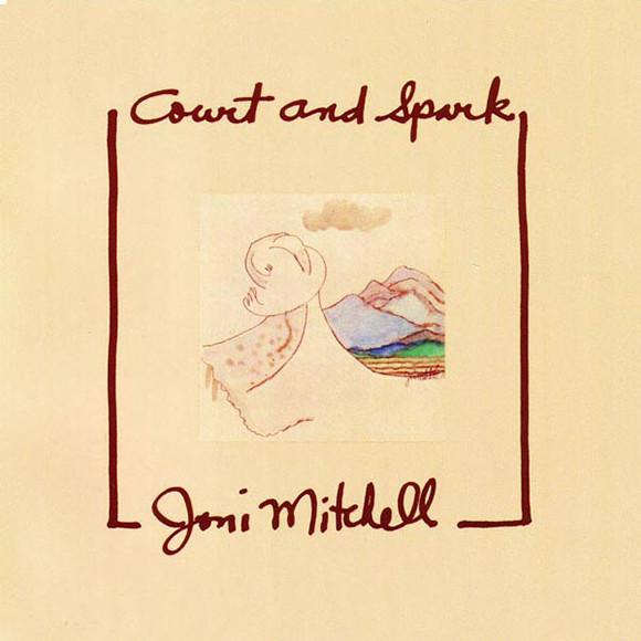 Виниловые пластинки Joni Mitchell COURT AND SPARK виниловые пластинки joni mitchell ladies of the canyon