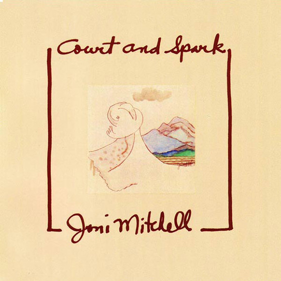 Виниловые пластинки Joni Mitchell COURT AND SPARK joni mitchell – blue lp