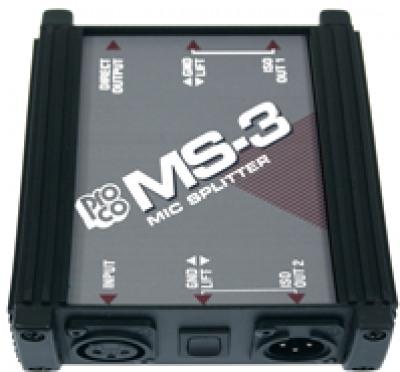 Аксессуары для микрофонов, радио и конференц-систем Horizon MS3