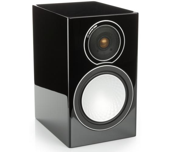 Полочная акустика Monitor Audio Silver 1 high gloss black цена 2016