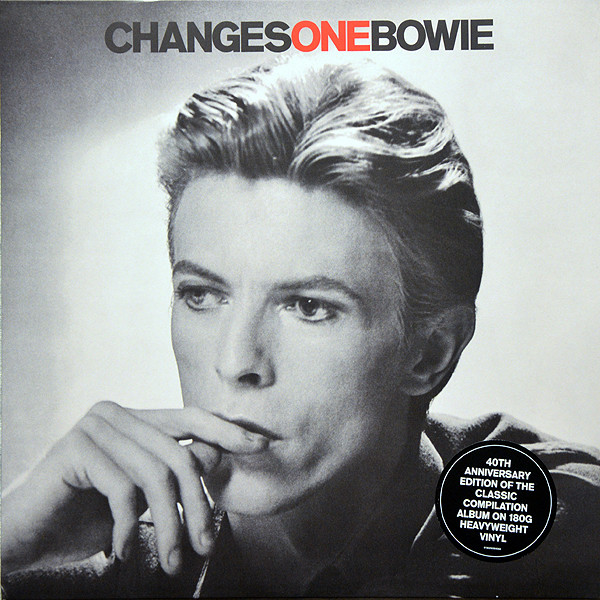 Виниловые пластинки David Bowie CHANGESONEBOWIE (40TH ANNIVERSARY) (180 Gram)