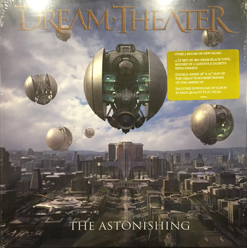 Виниловые пластинки Dream Theater THE ASTONISHING (180 Gram/Box set)