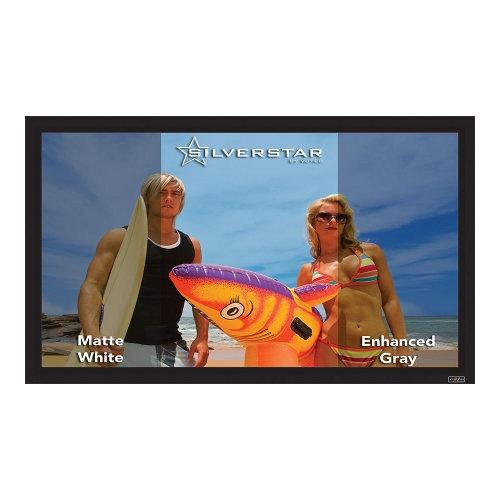 Экраны для проекторов Vutec SilverStar 3D-A 145'  экран для проектора 4k fo 120 3d