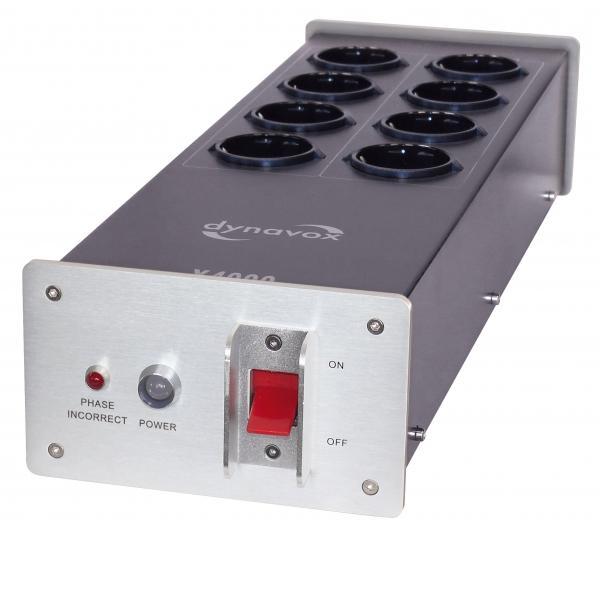 Сетевые фильтры Dynavox X4000 silver dynavox et 100 silver 206396