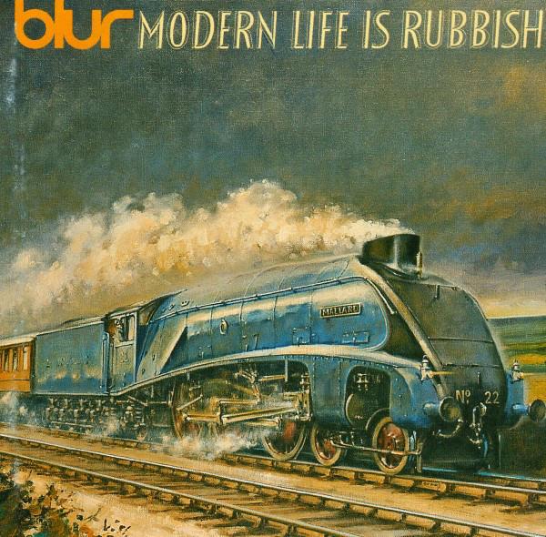 Виниловые пластинки Blur MODERN LIFE IS RUBBISH (180 Gram)