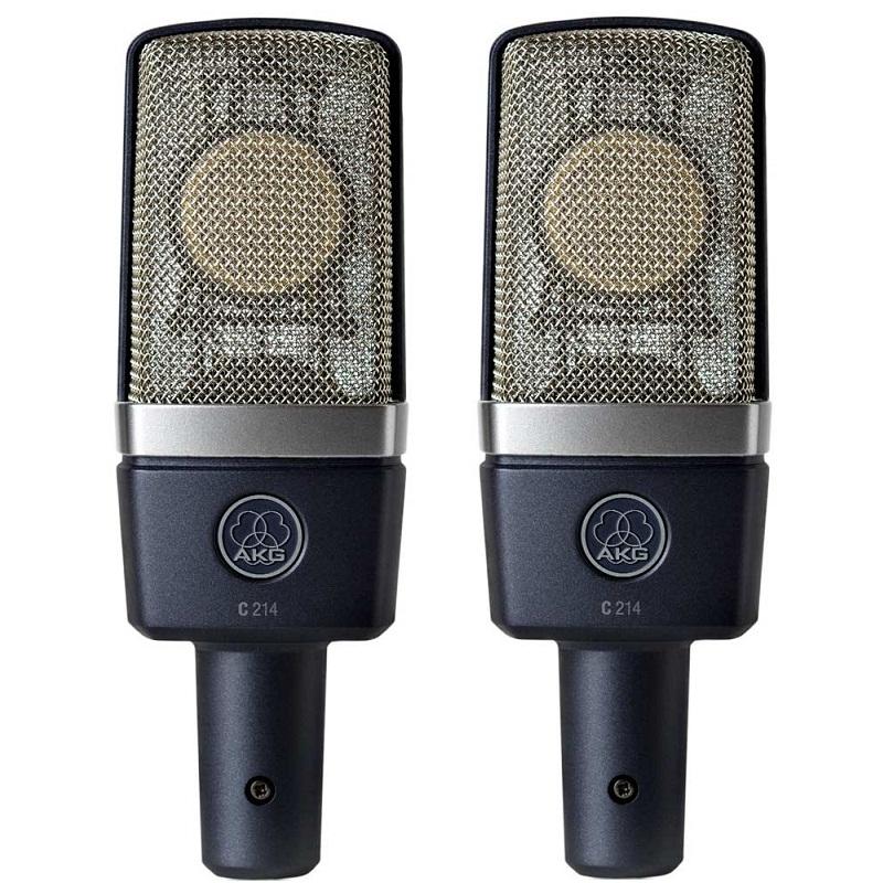 Микрофоны AKG C214ST микрофоны akg drumset premium