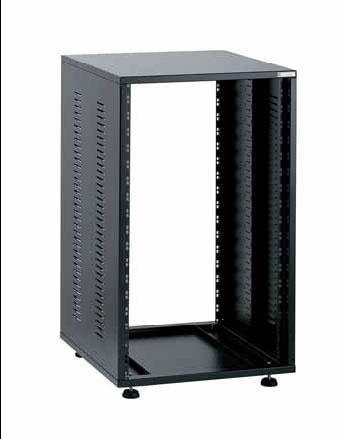 Профессиональные стойки и крепления EuroMet EU/R-30LX 05373 3 части Рэковый шкаф, 30U, глубина 640мм, сталь черного цвета.