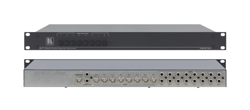 Оборудование для аудио/видео коммутации Kramer VS-81AV