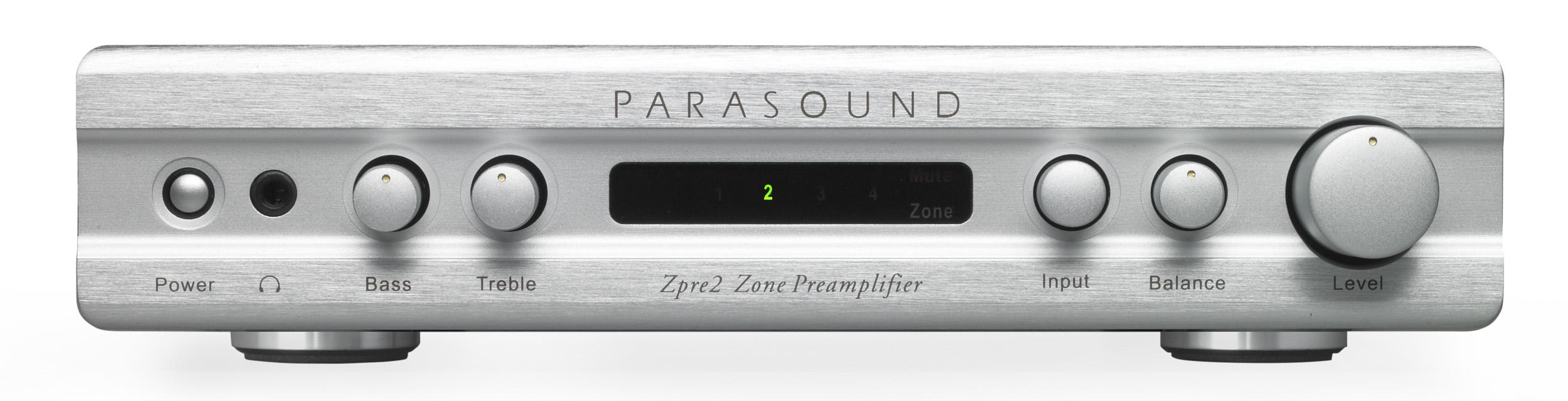 Предусилитель (стерео) Parasound Zpre v2 silver parasound a23 silver