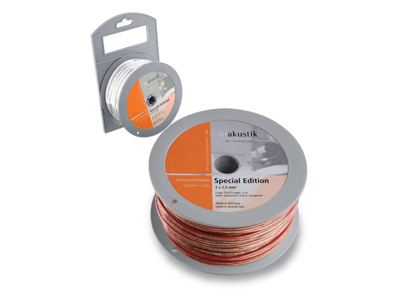 Акустические кабели In-Akustik Star LS Special Edition 2x1.5 mm2 30.0m #01002430  акустические кабели in akustik star ls cable 2 x 1 5 mm2