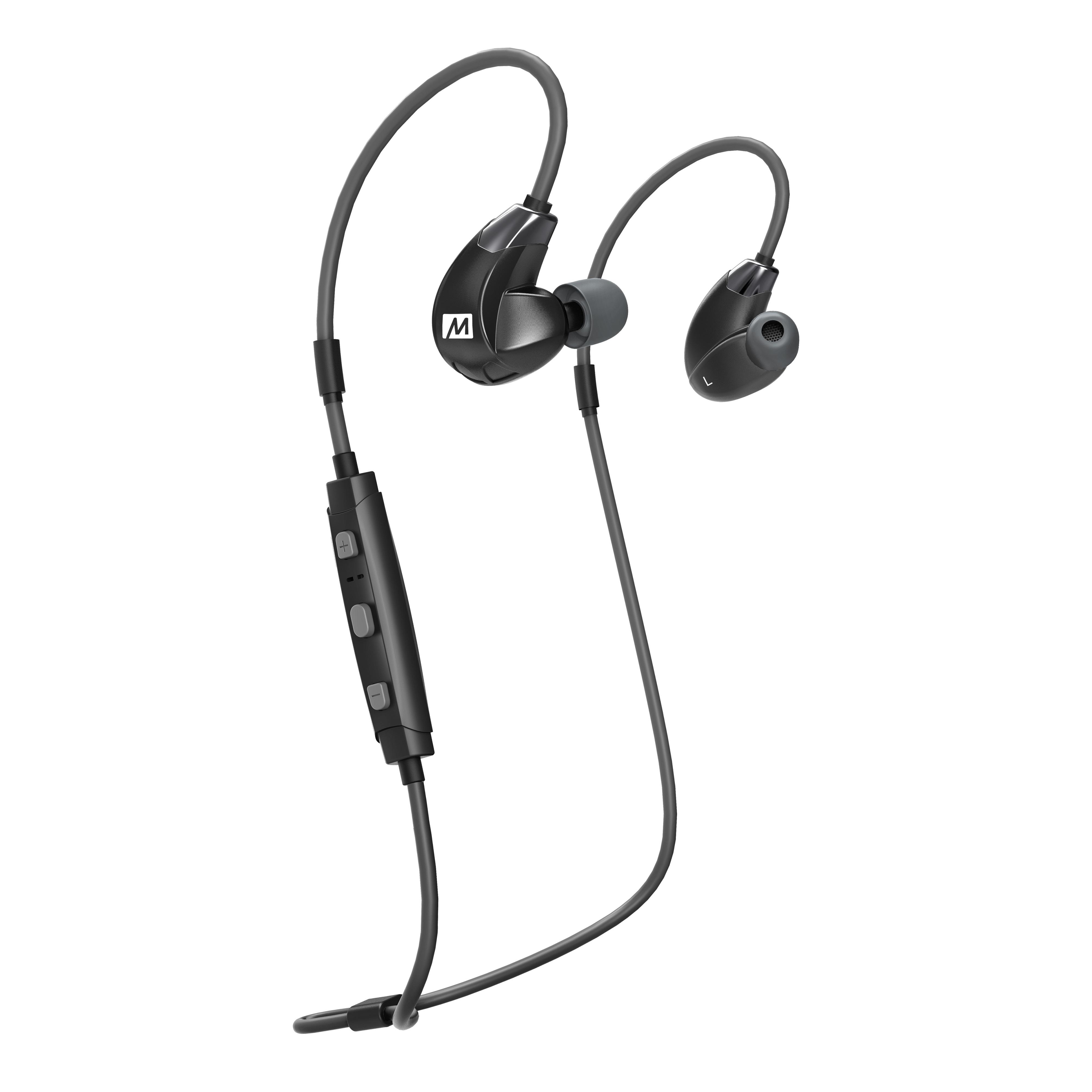 Наушники MEE Audio X7 Plus Bluetooth Black/Gray