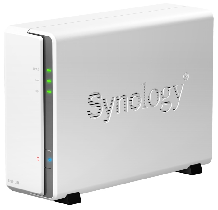 Сетевые накопители Synology DS115j видеонаблюдение