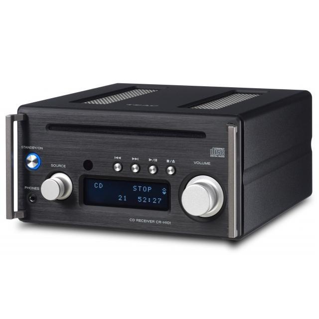 CD ресиверы Teac CR-H101 black внешний цап teac ud 501 black