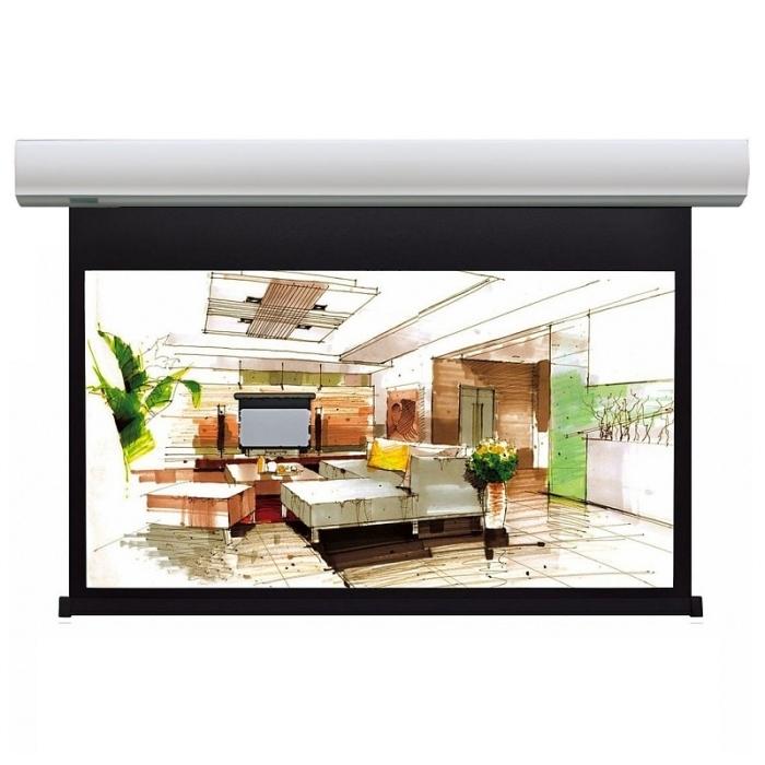 """Экраны для проекторов Lumien Cinema Control 185x272 см (раб.область 148х264 см) (119"""") Matte White FiberGlass (белый корпус)"""