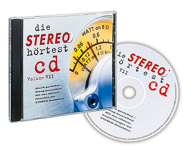 Аксессуары In-Akustik CD Die Stereo Hortest CD Vol. VII 0167926 набор карандашей saul 12