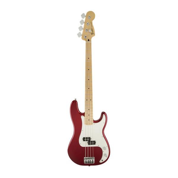 Бас-гитары FENDER Standard Precision Bass MN Candy Apple Red Tint