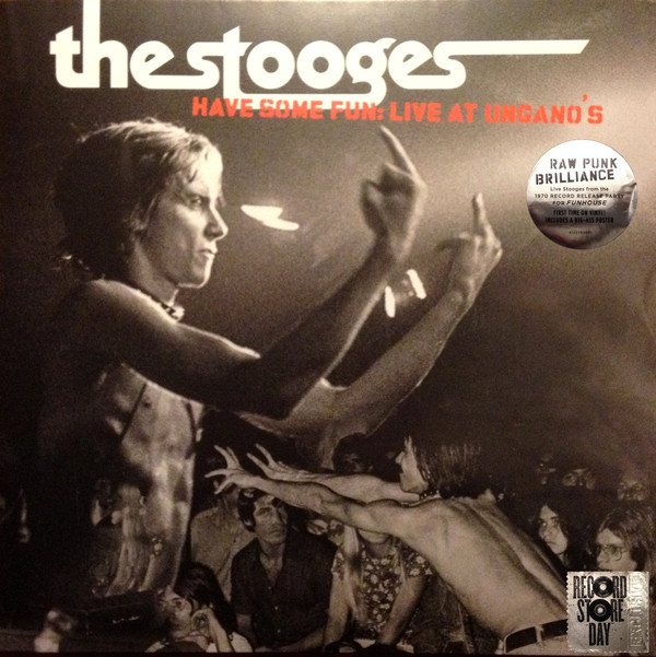 Виниловые пластинки The Stooges LIVE AT UNGANO'S (Grey/White Splattered vinyl) diysecur infrared contactless bule backlight touch exit button door release switch for access control free shipping
