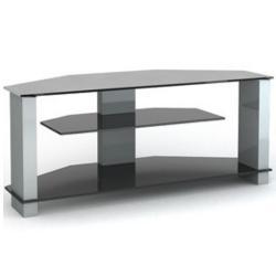 Подставки под телевизоры и Hi-Fi MD 517.1030 алюминий/дымчатое стекло
