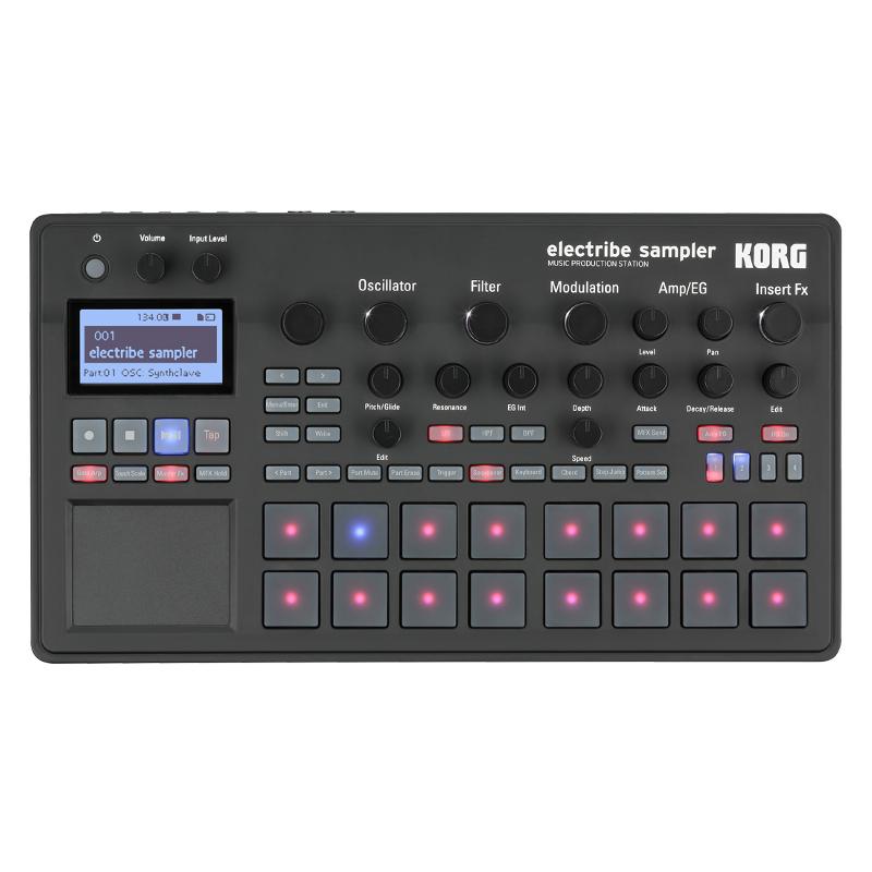 Грувбоксы и компактные синтезаторы KORG ELECTRIBE2S korg volca beats