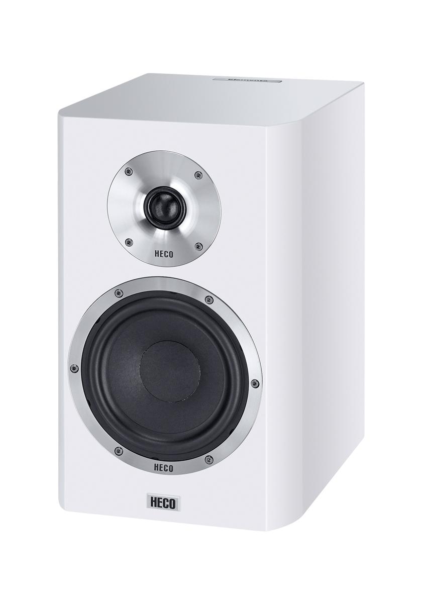 Полочная акустика Heco Elementa 300 White satin сабвуферы heco elementa sub 3830a white satin