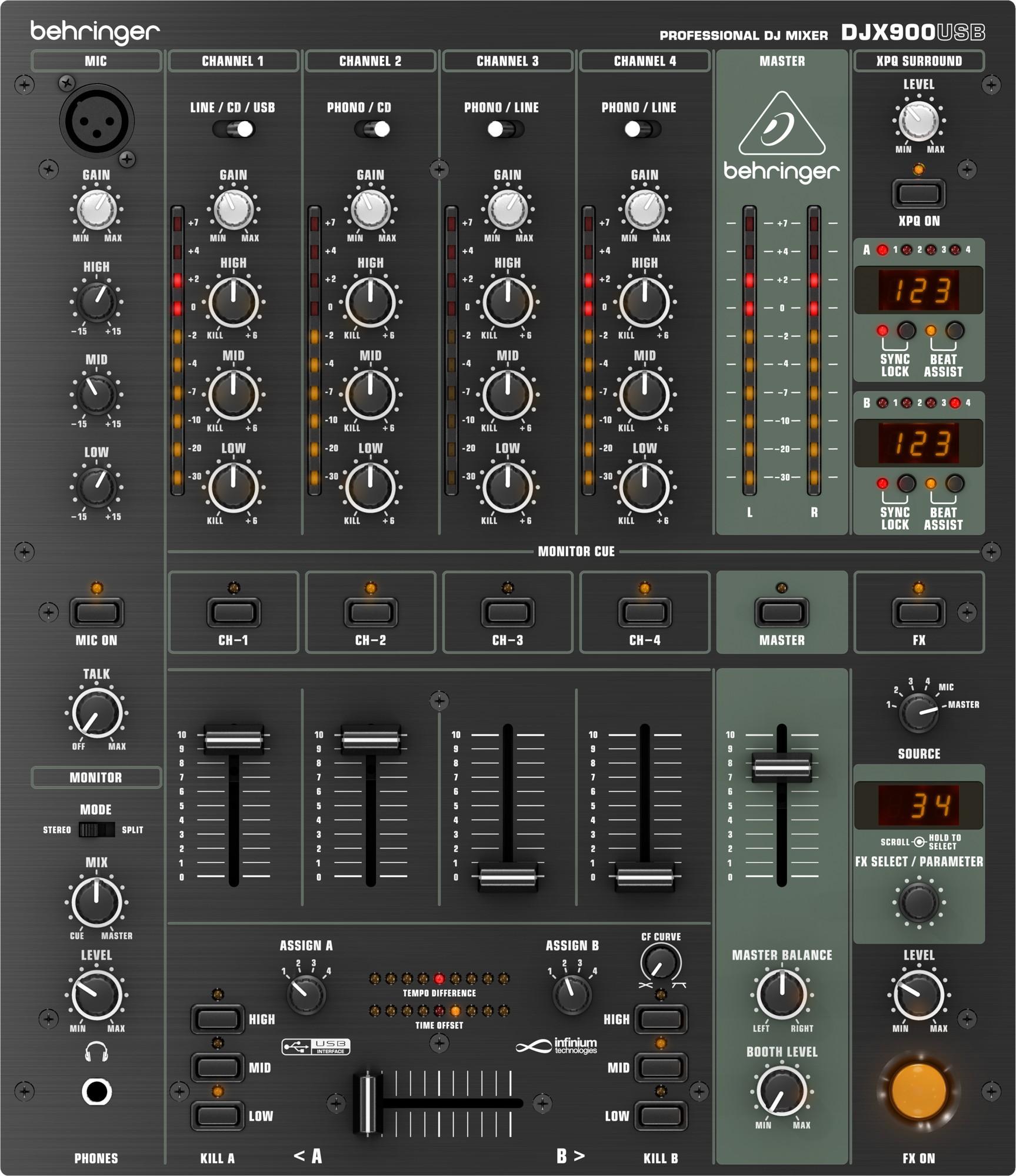 DJX900USB от Pult.RU