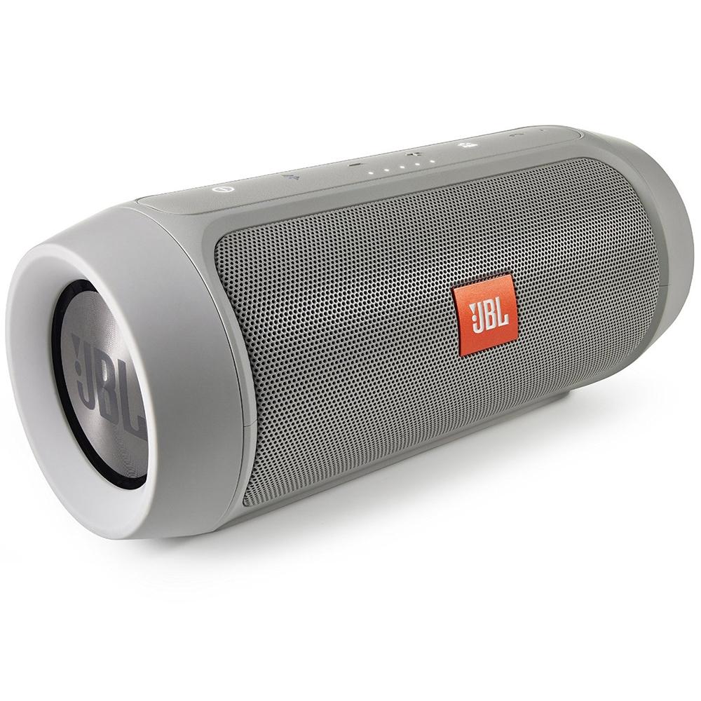 Портативная акустика JBL Charge 2 Plus grey (CHARGE2PLUSGRAYEU)