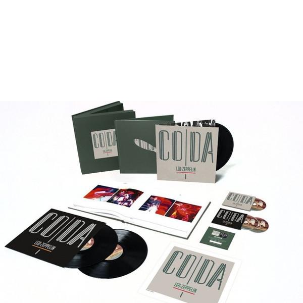 Виниловые пластинки Led Zeppelin CODA (Super Deluxe Edition Box set/Remastered/3CD+3LP/180 Gram/Hardbound 72-page book) виниловая пластинка led zeppelin in through the out door deluxe edition remastered 180 gram