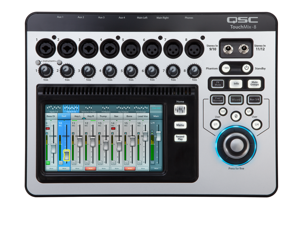 Микшерные пульты QSC Touchmix-8