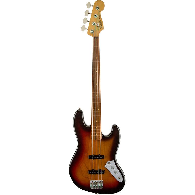 Бас-гитары FENDER Jaco Pastorius Jazz Bass Rosewood Fingerboard 3-color Sunburst