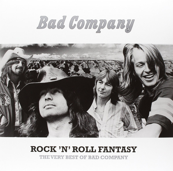 Виниловые пластинки Bad Company ROCK N ROLL FANTASY: THE VERY BEST OF BAD COMPANY (Start your ear off right/180 Gram)