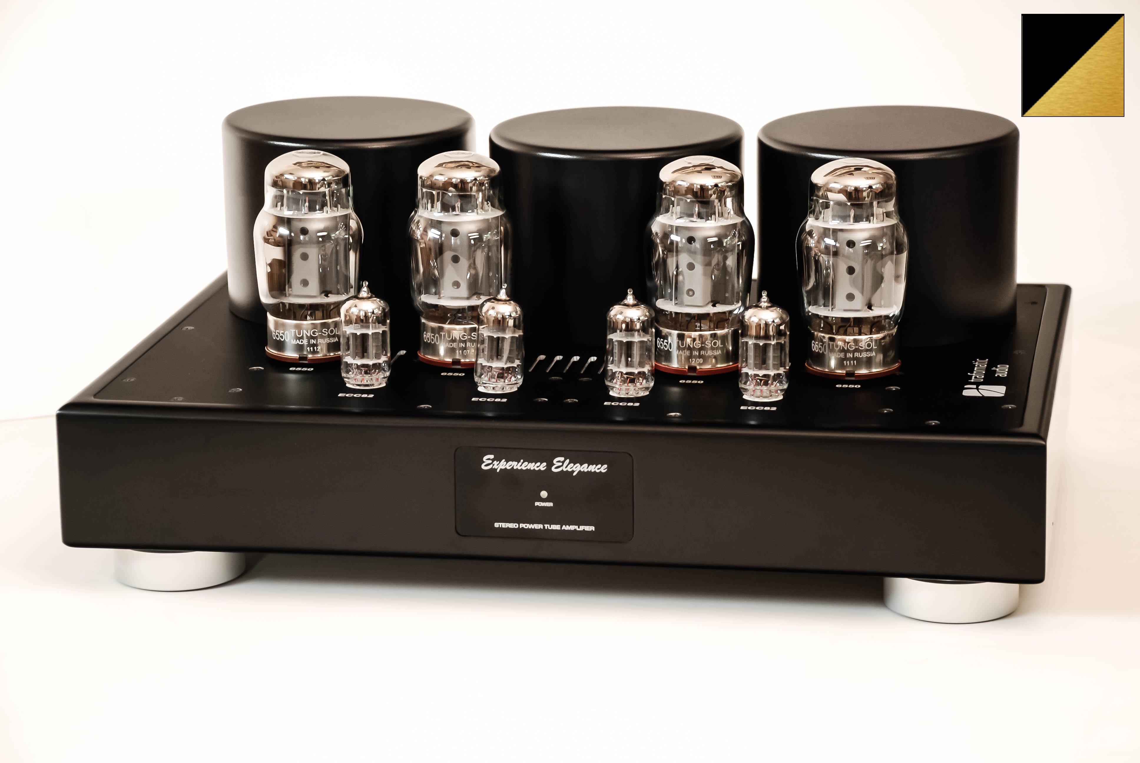 Усилители ламповые Trafomatic Audio Experience Elegance Power (black/gold finish) акустика центрального канала mt power elegance center black