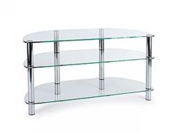 Подставки под телевизоры и Hi-Fi MD 403 slim хром/прозрачное стекло подставки под телевизоры и hi fi md 525 алюминий прозрачное