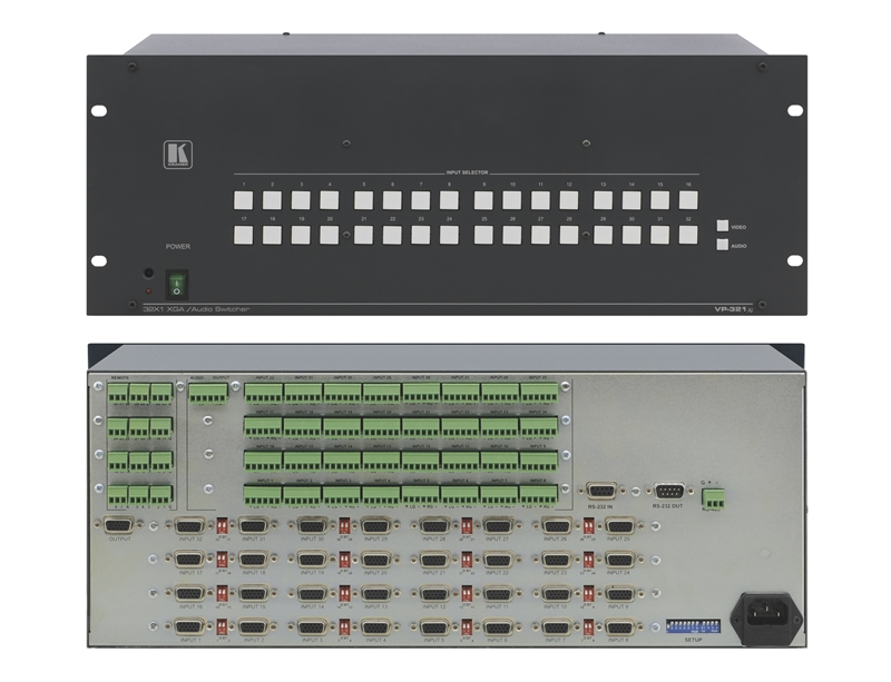 Оборудование для аудио/видео коммутации Kramer VP-321xl