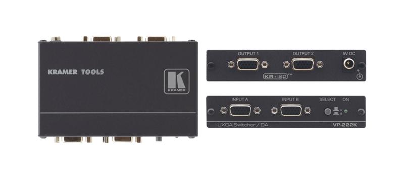 Оборудование для аудио/видео коммутации Kramer VP-222K  цена