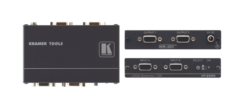 Оборудование для аудио/видео коммутации Kramer VP-222K