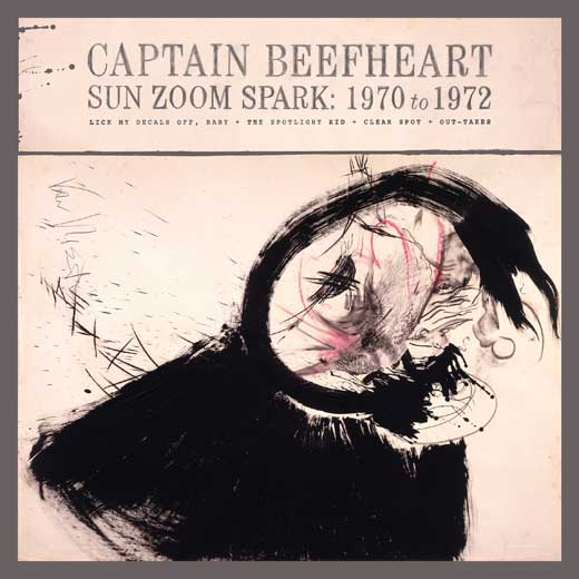 Captain Beefheart SUN, ZOOM, SPARK: 1970 TO 1972 (Box set/W1450)