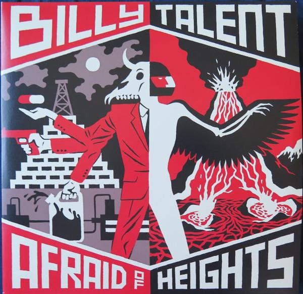 Виниловые пластинки Billy Talent AFRAID OF HEIGHTS (180 Gram)
