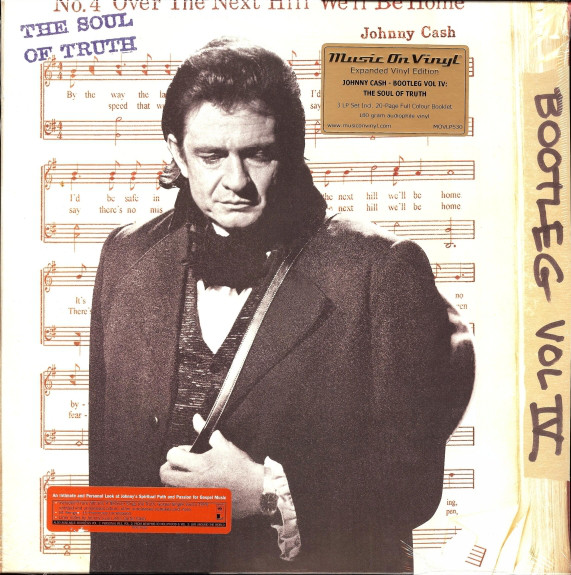 Johnny Cash THE BOOTLEG SERIES VOL. 4: THE SOUL OF TRUTH (180 johnny cash johnny cash the sound of
