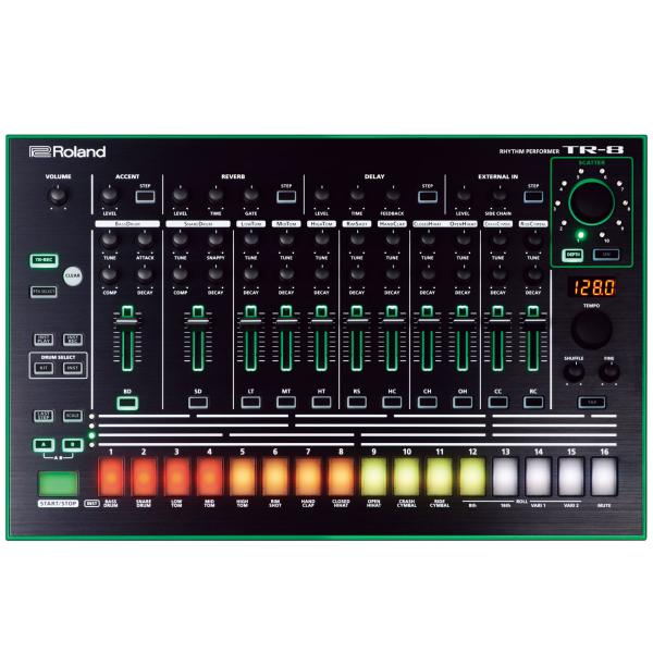 Грувбоксы и компактные синтезаторы Roland AIRA TR-8
